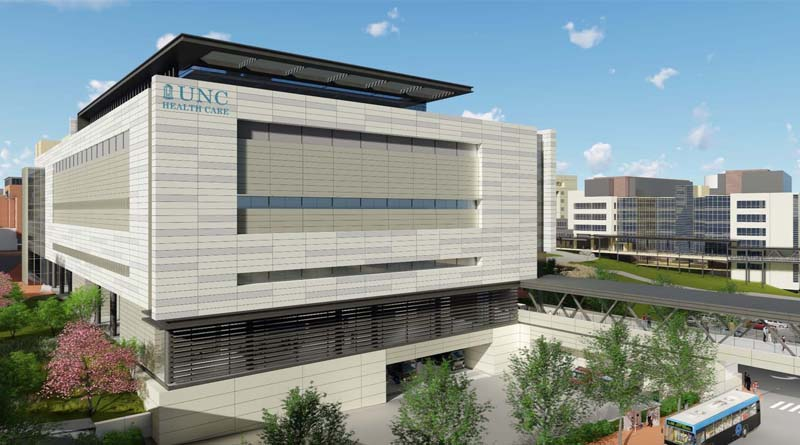 Skanska Constructing University Of North Carolina Surgical Tower