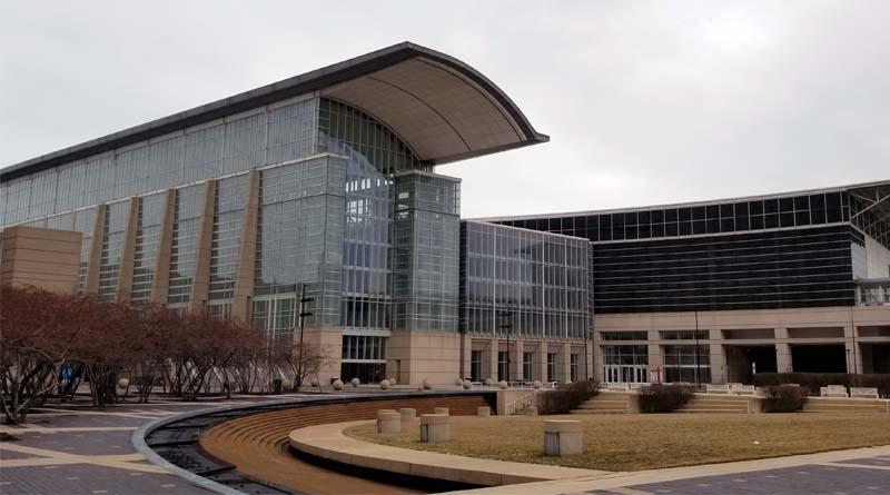 McCormick Place Converts into Coronavirus Treatment Space