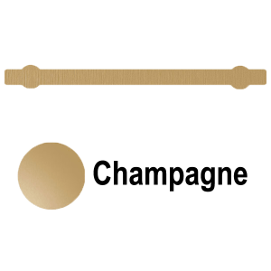 Towel Bar Champagne