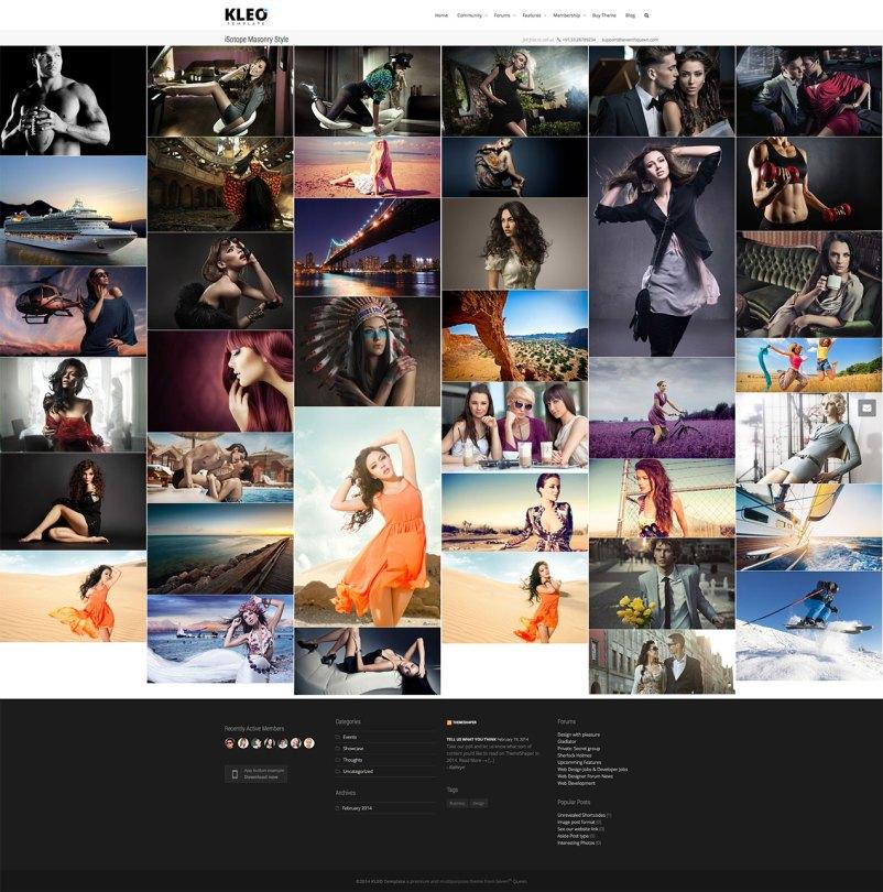 Kleo web gallery
