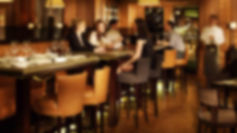 Blurry image of a bar