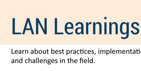 LAN Learnings banner