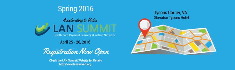 Spring 2016 LAN Summit banner