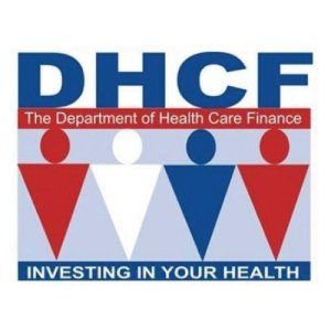 The Department of Health Care Finance logo