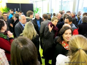 Official inauguration of the biopole Rennes - 01292015