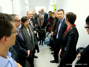 Official inauguration of the biopole Rennes