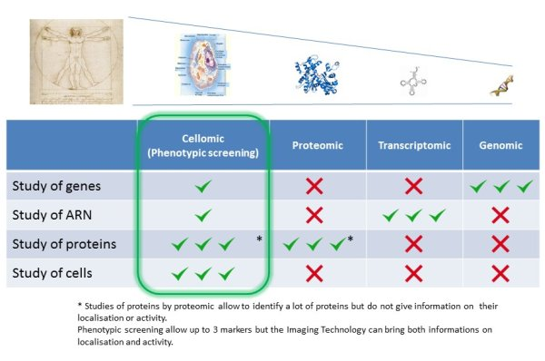 Cellomic vs omics