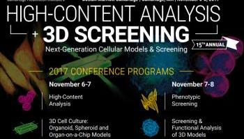 Conference In Boston Wednesday November >> Meet Me In High Content Analysis And 3d Screening Conference In