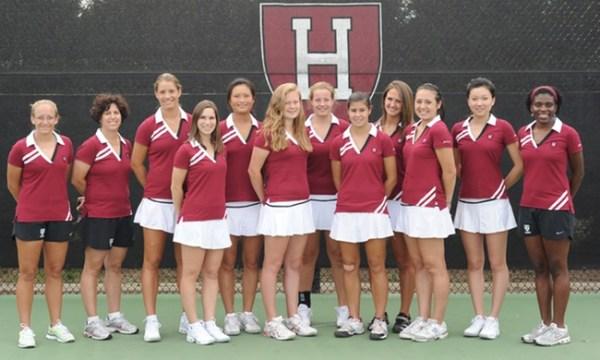 Harvard Womens Tennis - Beautiful Women