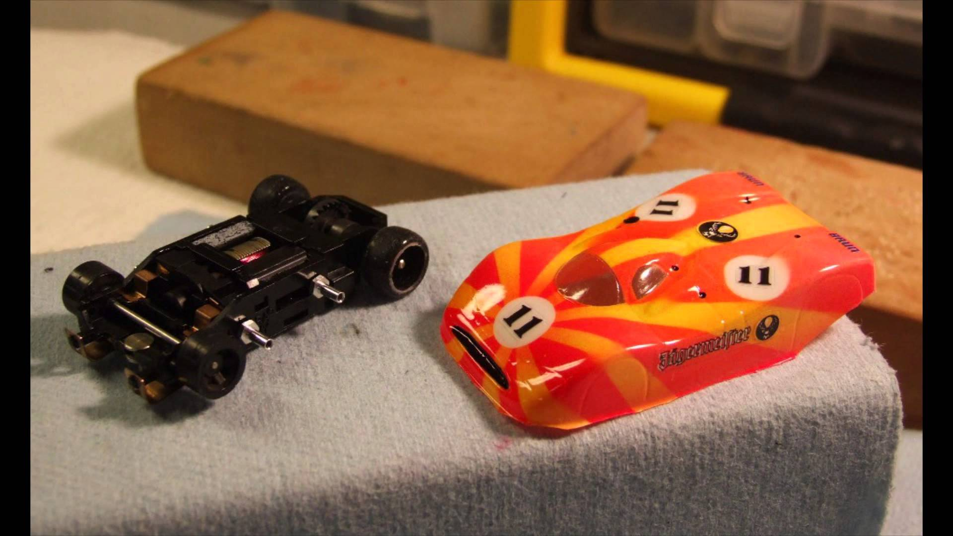 Ho Slot Car Lexan Body Post Installation And Trimming Bodies Racing Track Power Wiring Hc Slots