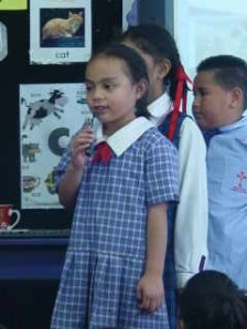 """""""Follow Me' is one of our favourite songs. Thank you for helping us learn the words at home!"""