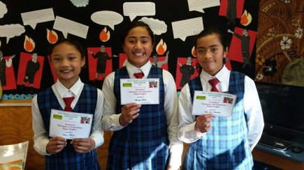 Auckland Champions of Champions Rippa Rugby - Tiaare, Mercedez and Taylor-Lee