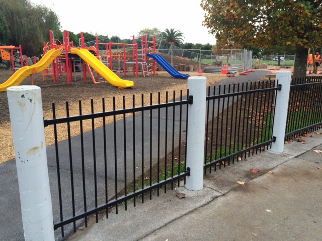 The safety fences
