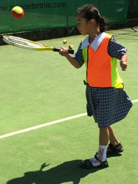 Our school racquets are cool