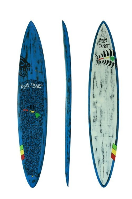 12'6''x28'' Bump Surfer carbon blue (1)