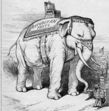 Thomas Nast's Republican Elephant