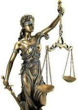Blind scales of justice
