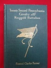 22nd PA Ringgold Battalion Book