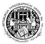 Pittsburgh Typographical Union Logo