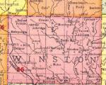 Map of Winston County, Alabama