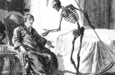 Sketch of Death coming