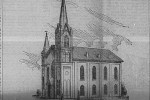 Goff M. E. Chapel where the Rev. S. K. Arbuthnot, who presided over the funeral service of William B. McMeekin, was pastor