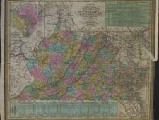 WV and VA map