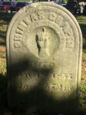 Headstone of Phineas Chapin