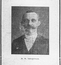 Photograph of M. M. Thompson