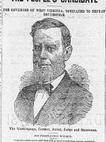 1884 Campaign Picture Edwin Maxwell for Governor