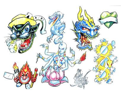 Tattoo Flash 20J10