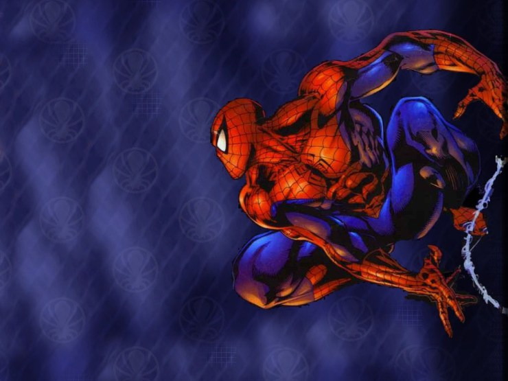 Spiderman cartoon wallpaper 2