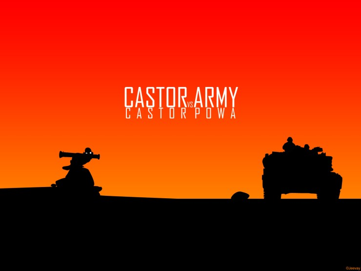 dci castor army wallpaper by jeevay