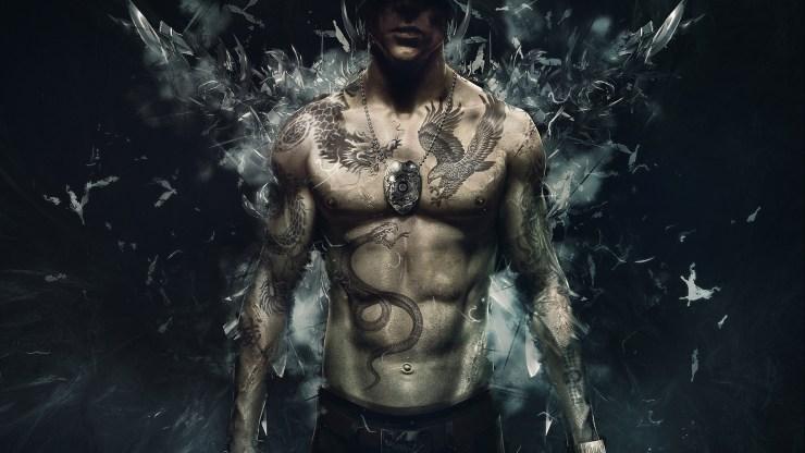 Tattoo D Boy Desktop HD Wallpaper
