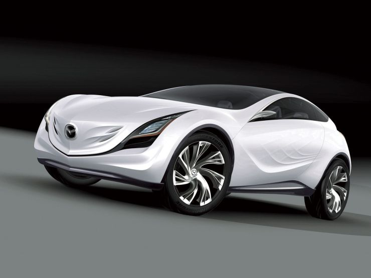 mazda kazamai concept car wallpaper