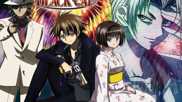 black cat anime wallpaper
