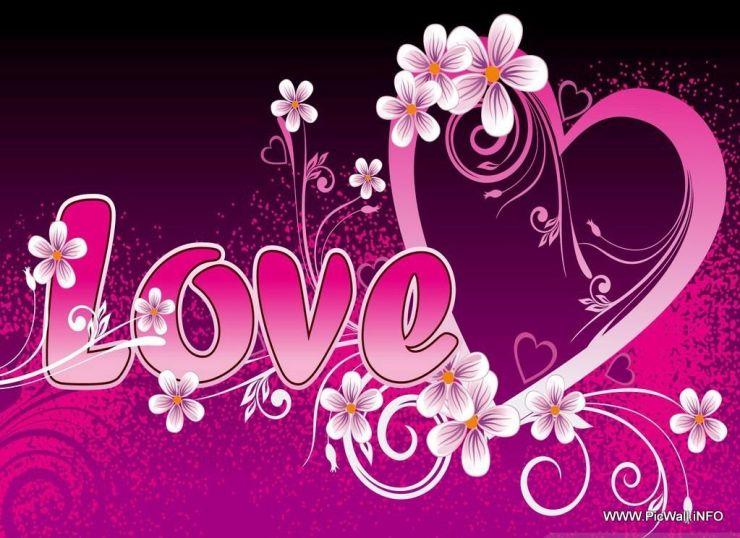 love pink wallpaper