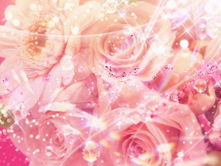 wallpaper pink flowers