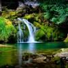 3d waterfall wallpaper