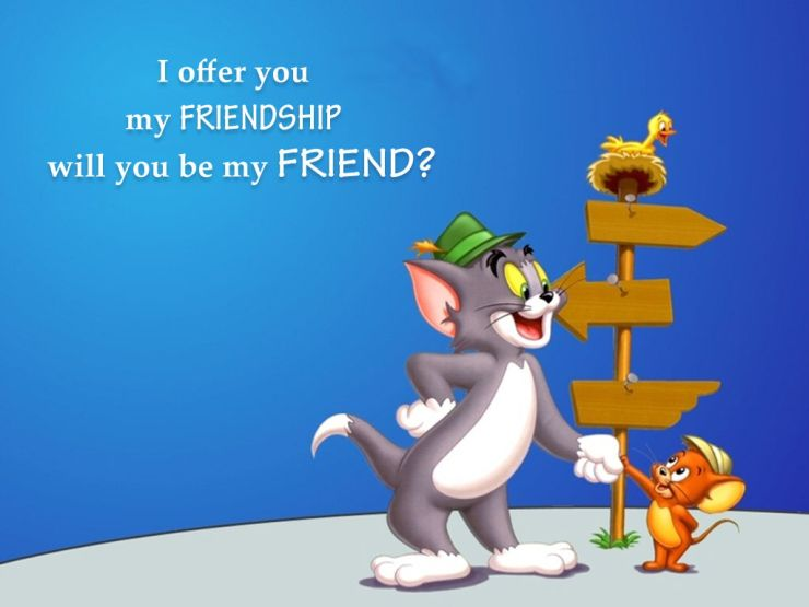 cartoon wallpaper with quotes