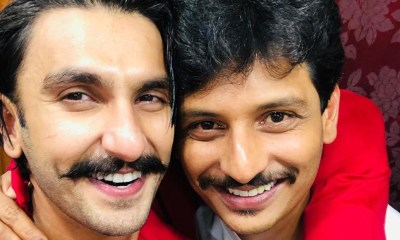 Actor Jeeva and Ranveer Singh