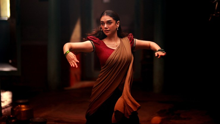 Aditi Rao Hydari Dance Wallpaper in Sufiyum Sujathayum