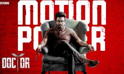 Shiva Karthikeyan in Doctor Motion Poster