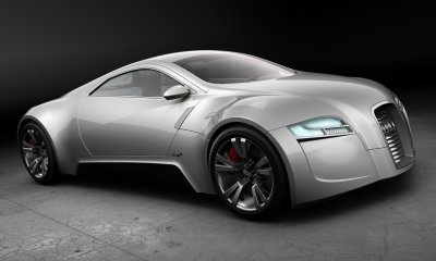 audi r zero concept car wallpaper