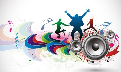 dance music wallpaper