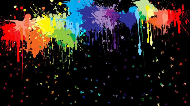 Abstract Wallpaper Art