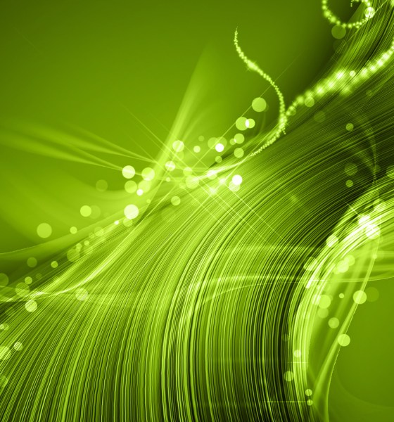 Abstract Wallpaper Green