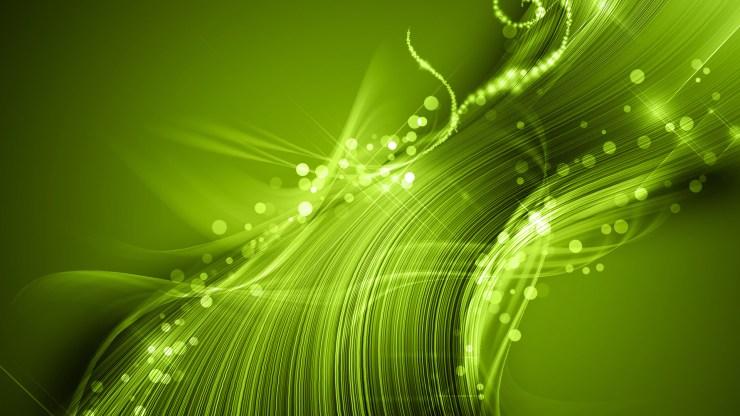 Abstract Wallpaper Green