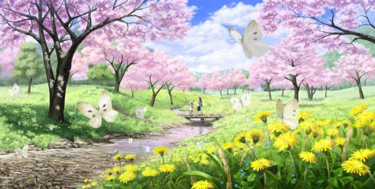 HD Spring free desktop wallpaper desktop 3200p