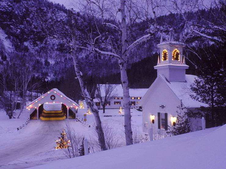 HD Winter holiday wallpaper android, Pc Desktop 1024p
